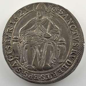 Thaler   Paris von Lodron (1619-1653)   1621    TTB/TTB+