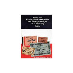 TIESTE   Katalog des Papiergeldes der Gefangenenlager im 1. Weltkrieg