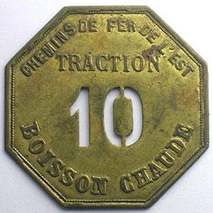 Traction - 10 - Boisson Chaude   Lt, 8   41mm    SUP