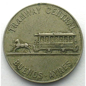 Tramway central de Buenos-Ayres   22,5mm    TTB