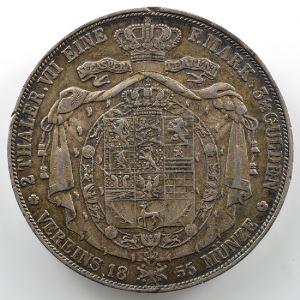 Vereinsdoppeltaler   1855 B    TB+/TTB