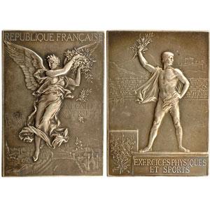 Vernon   Boîte de présentation de l'Exposition Universelle et des Jeux Olympiques de Paris   1900    TTB/SUP
